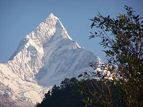 1the worlds most beautiful mountain Fishtail